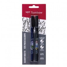 Caneta Brush Pen Fudenosuke c/2 pcs