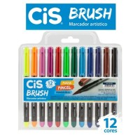 Cis Brush 12 cores