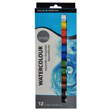 AQUARELA DR SIMPLY 12ML SET 12 CORES