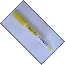 Caneta Ecoline Brush Pen 201 Light Yellow